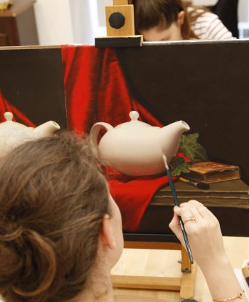 oil painting course may fine art studio