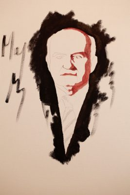 portrait painting, development process, may fine art studio, vienna, austria