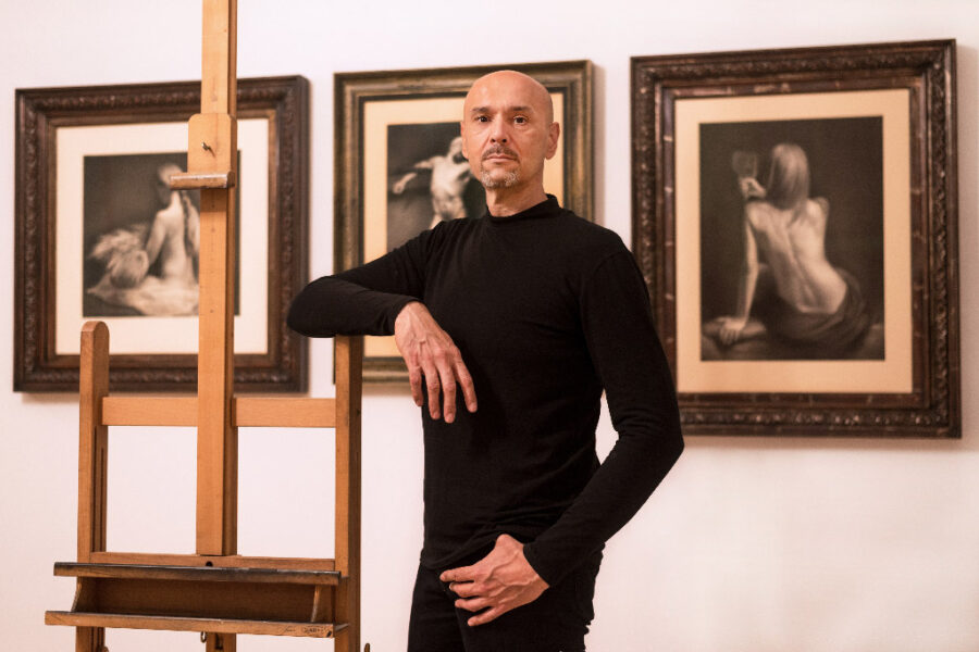 damir may in his art school 1060 vienna