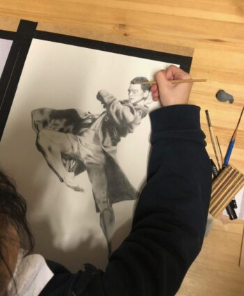professional drawing course may fine art studio vienna