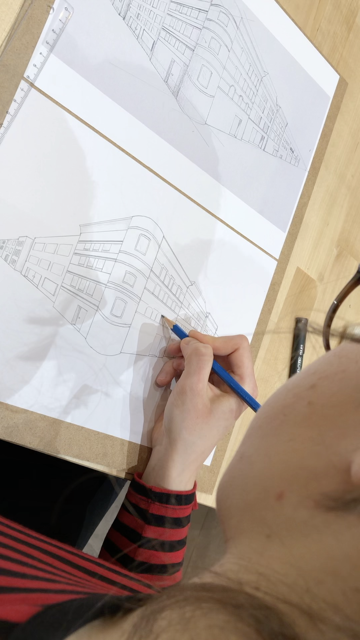 perspective drawing course may fine art studio