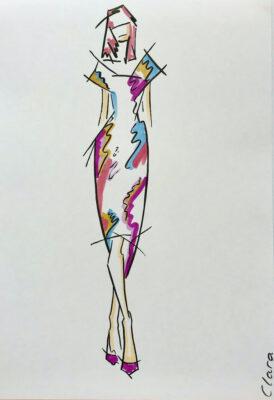 fashion drawing course, may fine art studio vienna